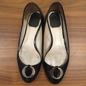 169a78e0ca194e Dior Shoes - Dior Cannage Flat Ballerina